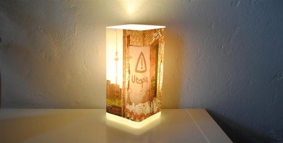 Fotolampe-Berlin: Utopia-Lampe