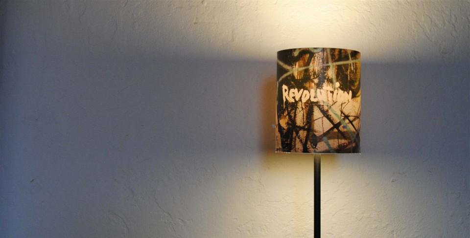 Fotolampe-Berlin: die Revolution von Nahem besehen