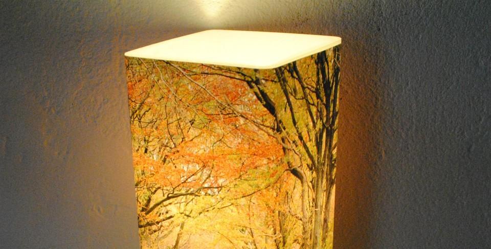 Fotolampe-Berlin - Herbstlich(t) - Detail